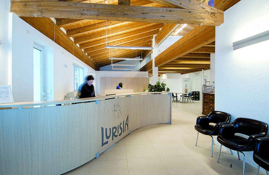 L'ingresso dell'azienda Lurisia