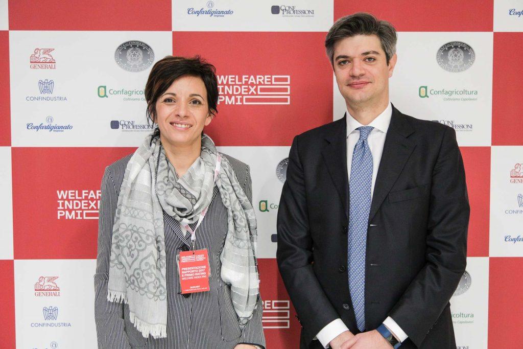 Lucia Sciacca, direttore Comunicazione e Social Responsibility di Generali Italia e Marco Sesana, Country Manager e Amministratore Delegato di Generali Italia