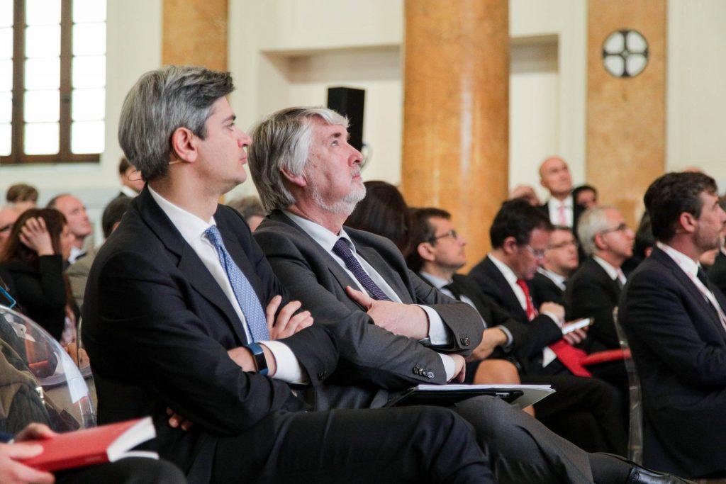 Marco Sesana, Country Manager e Amministratore Delegato di Generali Italia e Giuliano Poletti, Ministro del Lavoro e delle Politiche Sociali
