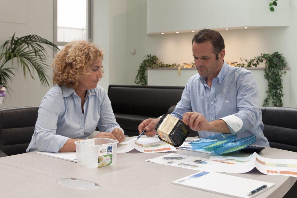 I titolari Rocco De Lucia e Barbara Burioli