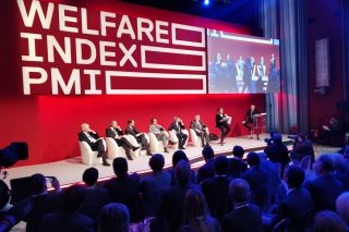 Il palco di Welfare Index PMI 2018
